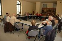 Workshop v Domě protestantismu v Nîmes (Foto: Jana Šustová)