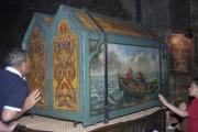 Relikviáře s ostatky sv. Marie Salomé a sv. Marie matky Jakubovy (Foto: Jana Šustová)