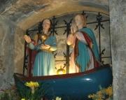 Lodička se svatou Marií Salomé a svatou Marií matkou Jakubovou (Foto: Jana Šustová)