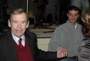 Václav Havel na předávání Cen Gypsy Spirit (Foto: Jana Šustová)