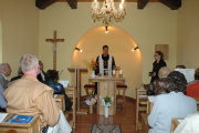 Bohoslužba v Hodoníně u Kunštátu