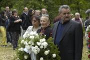 Romové na pietním aktu v Letech u Písku (Foto: Jana Šustová)