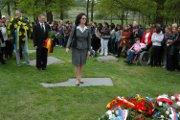 Rumunská velvyslankyně Daniela Gitman v Letech u Písku (Foto: Jana Šustová)
