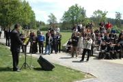 Ondřej Giňa mladší hovoří k účastníkům (Foto: Jana Šustová)