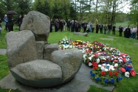 Commemorative ceremony for Romany victims of the Holocaust at the Lety memorial (Photo: Jana Šustová)