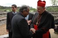 Čeněk Růžička a kardinál Dominik Duka (Foto: Jana Šustová)