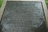 Památník romských obětí holocaustu v Mnichově (Foto: Jana Šustová)