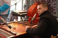 Mladý cimbalista Pavel Sivák (Foto: Jana Šustová)