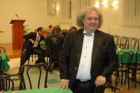 Roby Lakatos před koncertem v Ostravě (Foto: Jana Šustová)
