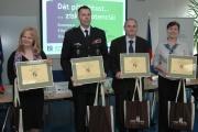Noví držitelé certifikátu Ethnic Friendly zaměstnavatel (Foto: Jana Šustová)