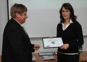 Tereza Dvořáková z firmy Inventec (vpravo). Foto: Jana Šustová