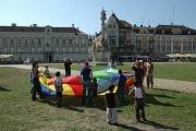 Hry pro děti na náměstí Jednoty