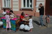Program pro děti na Náměstí Jednoty (Foto: Jana Šustová)