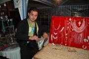 Romský stříbrník Ion Manole na Mezinárodním festivalu romského umění v Temešváru (Foto: Jana Šustová)