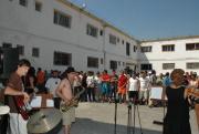 Koncert skupiny Colombo de Niro ve věznici v Temešváru