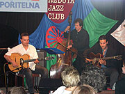 Gypsy jazz at Khamoro festival (Photo: Jana Šustová)
