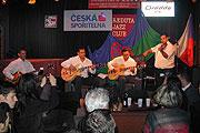 Paulus Schäfer Gipsy Band na Festivalu Khamoro (Foto: Jana Šustová)