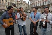 Ciganos d'Ouro na Staroměstském náměstí