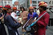 Skupina Dhoad Gypsies from Rajasthan na festivalu Khamoro (Foto: Jana Šustová)