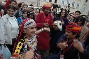 Dhoad Gypsies of Rajasthan na Staroměstském náměstí