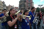 Orkestar Strumica na Staroměstském náměstí