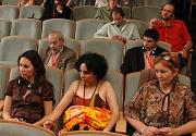 Pavel Koller (2. řada vpravo) na semináři Romové a média (Foto: J. Šustová)
