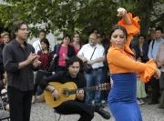 Puerto Flamenco na vernisáži výstavy Ztracený ráj (Foto: Jana Šustová)