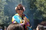 Raya při defilé během festivalu Khamoro (Foto: Jana Šustová)