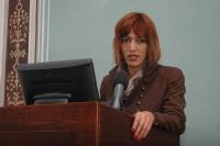 Andrea Bučková na semináři o anticiganismu (Foto: Jana Šustová)
