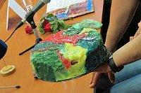 Zmenšenina dortu Mandala Zorana Tairoviće (Foto: Kristýna Maková)