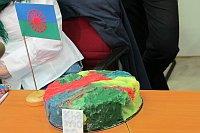Miniaturmodell der Torte 'Mandala' (Foto: Kristýna Maková)