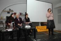 Prezentace knihy Romové - neviditelní Američané v Knihovně Václava Havla (Foto: Jana Šustová)