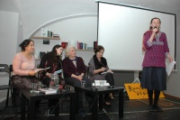 Představení knihy Anne Sutherlandové Romové - neviditelní Američané (Foto: Jana Šustová)