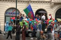 Romský alegorický vůz na Prague Pride 2014 (Foto: Jana Šustová)