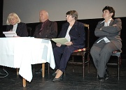 Zleva: Eva Kantůrková, Vladimír Fišer, p. Novotná a Džamila Stehlíková