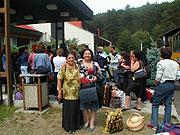 Ženy na setkání skupiny Manushe