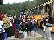 Romské ženy na setkání skupiny Manuše