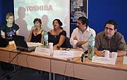 Zástupci romských médií