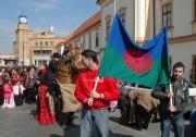 Průvod k Mezinárodnímu dni Romů v Brně (Foto: Jana Šustová)