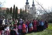 Oslavy v zahradě fary v Brně-Zábrdovicích (Foto: Jana Šustová)