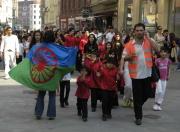 Pochod mětem ze Zábrdovic na Vaňkovku (Foto: Jana Šustová)