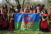 Na oslavách Mezinárodního dne Romů v Brně vystupovaly také děti (Foto: Jana Šustová)