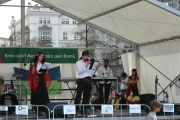 Loňské oslavy na Moravském náměstí (Foto: Jana Šustová)