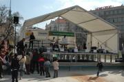 Mezinárodní den Romů, Moravské náměstí v Brně (Foto: Jana Šustová)