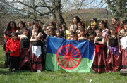 International Roma Day Celebration in Brno in 2010 (Photo: Jana Šustová)