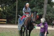 Romská princezna na koni (Foto: Jana Šustová)