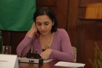 Renáta Berkyová předčítá ze své tvorby (Foto: Jana Šustová)