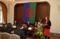 Monika Šimůnková při úvodním proslovu (Foto: Jana Šustová)
