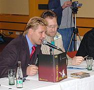 Miloš Hora - vlevo (Foto: Jana Šustová)