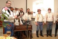 Cimbálová muzika Kubíci v Muzeu romské kultury (Foto: Jana Šustová)